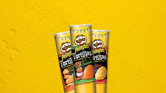 Pringles Tortillas Spice Up National Tortilla Chip Day in US with New Flavour