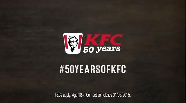 KFC Celebrates 50th Anniversary With Year-long #50YearsOfKFC Push