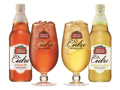Stella Artois Cidre Launches Peach & Elderflower Variants