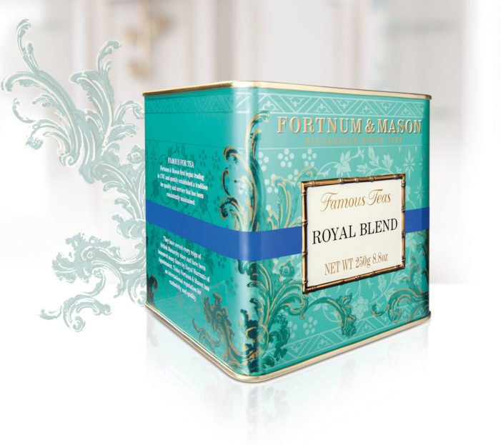 DECIDE. Bags DBA Gold For Fortnum & Mason 'Iconic Tea Range' Packaging