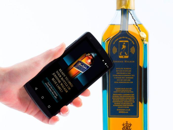 Diageo Unveils Johnnie Walker Connected Bottle in Personalisation Push