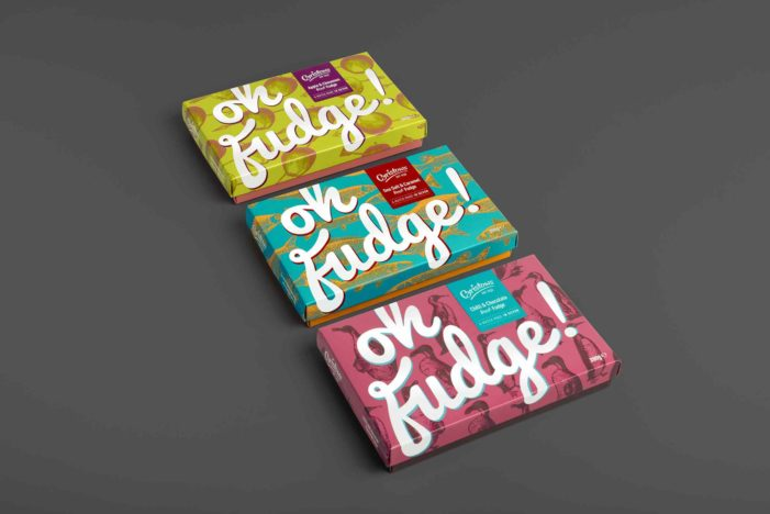 Bristows & Aesop Bring Oh Fudge! Brand to Life with Quirky Pack Design