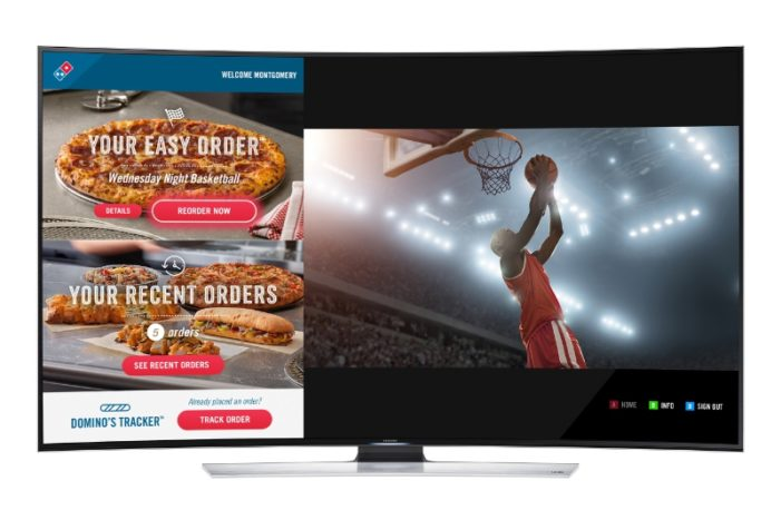 Domino's Introduces Ordering on Samsung Smart TVs