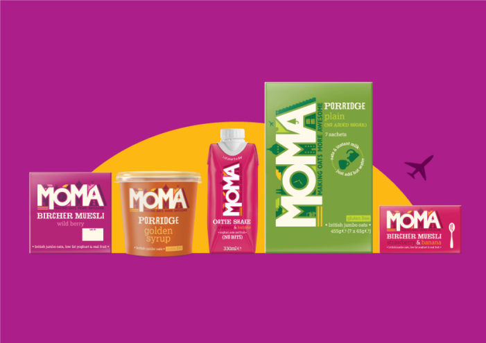 BrandOpus Make Oats More Awesome With A Redesign For MOMA