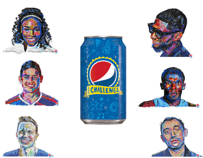 Pepsi Recruits Celebrities & Sports Personalities in Revamp of the Pepsi Challenge