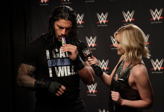 WWE's Roman Reigns Wrestles with Hunger Just Days Before the Biggest Match of His Career