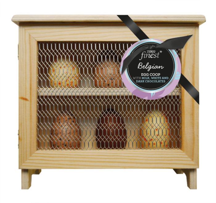 Parker Williams Designs Easter Egg Packaging for Tesco Finest Ranges