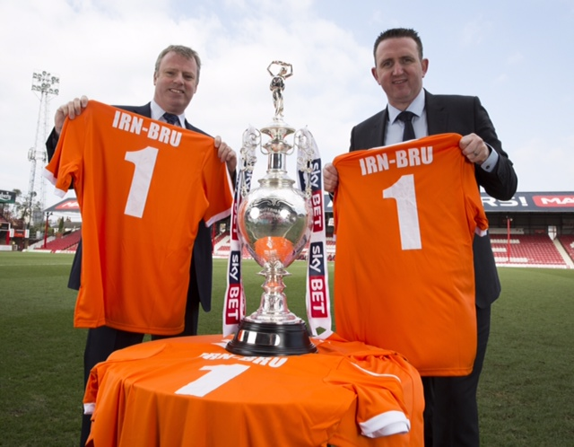 Irn Bru Signs on as Official Soft Drink Partner of The Football League