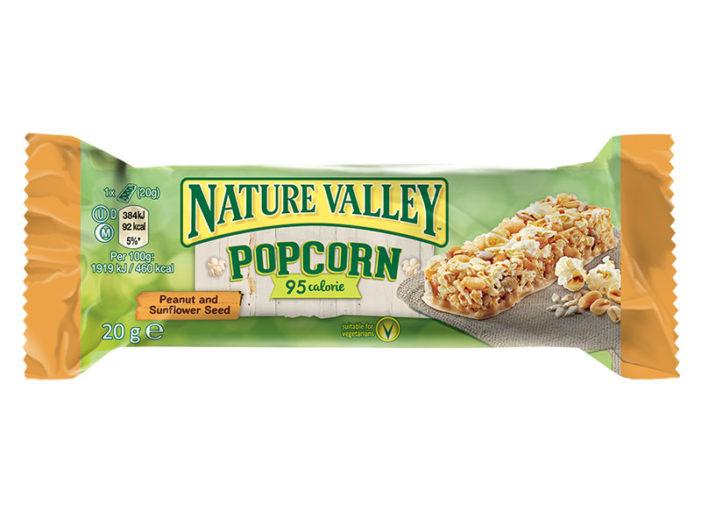 New Nature Valley Popcorn Bars Burst Onto The Market