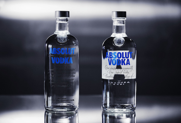 Absolut & Brand Union Unveils Redesign of Iconic Bottle