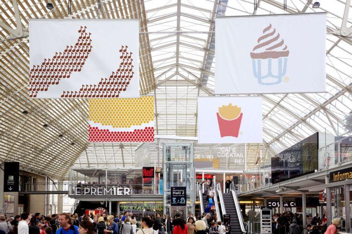 McDonald's France Updates its Famously Minimalist Ads with Emojis