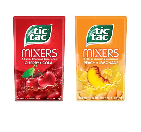 Tic Tac Introduces New Tic Tac Mixers In The US