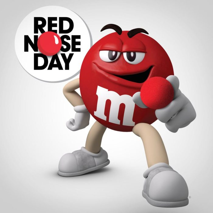 M&M's Brand Turns Laughs Into Donations To Benefit US Red Nose Day