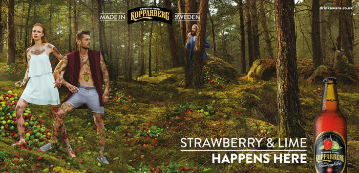 Kopparberg Goes Edgy With Tattoos & Body Art