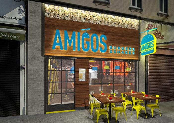 The Yard Creative Designs Amigos Burgers & Shakes