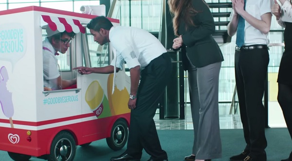 Wall's Miniature Ice Cream Van Is Giving Us Serious Office Envy