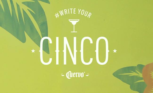 Jose Cuervo Celebrate Cinco de Mayo with 'Write your Cinco' Social Campaign