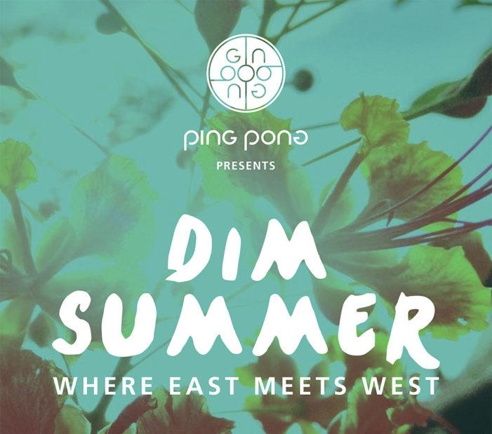 Caulder Moore Design 'Dim Summer' Promotional Campaign For Ping Pong