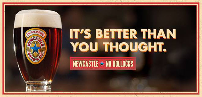 Newcastle Brown Ale Reassures New Fans They're Not Idiots for Just Now Becoming Fans