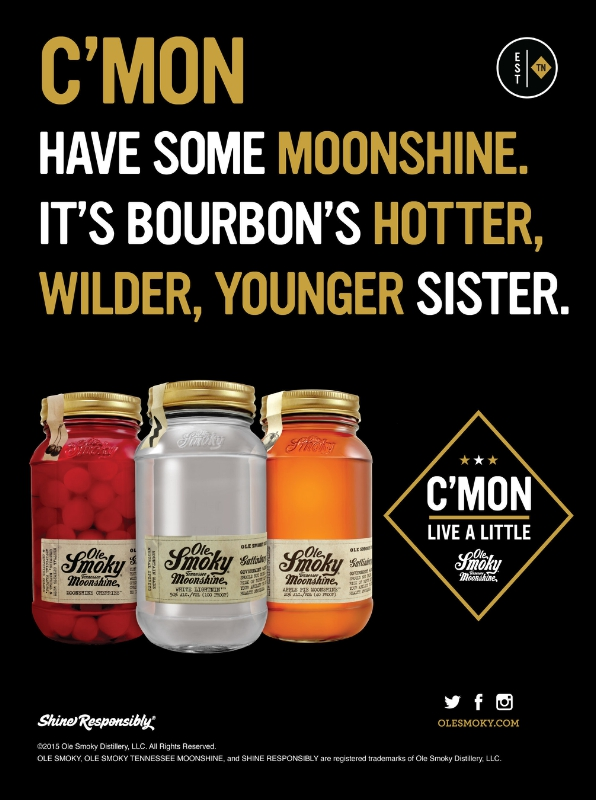Ole Smoky Tennessee Moonshine Launches New 360 Marketing Campaign