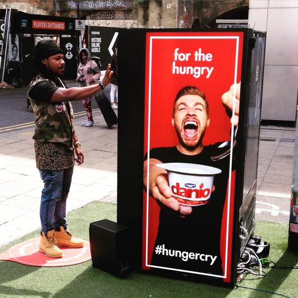 Unleash Your #HungerCry for Free Yogurt with Naked's New Danio Campaign