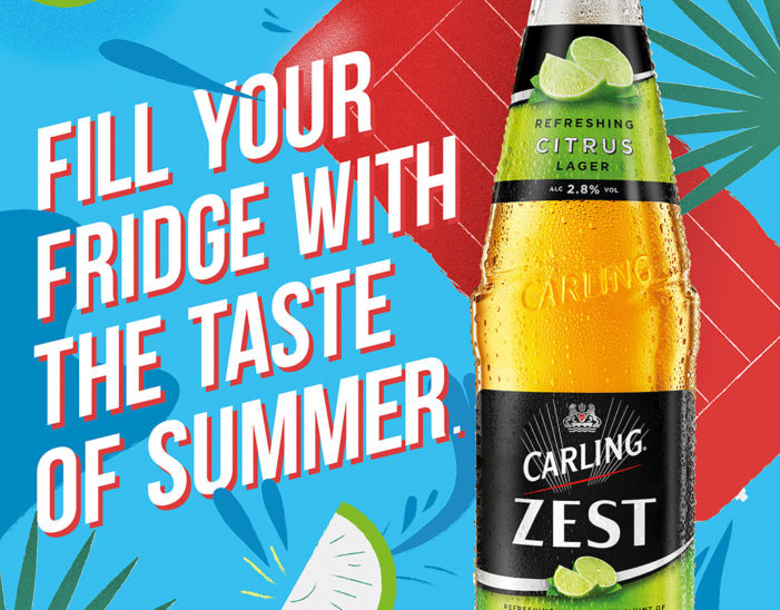 Molson Coors Launches New Above The Line Carling Zest Media Campaign