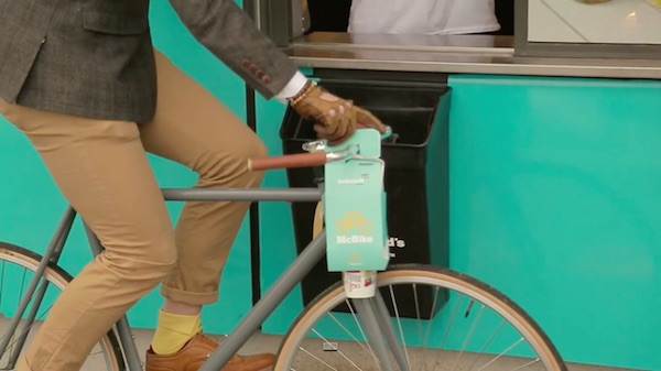McDonald's Creates A New Takeaway Packaging For Cyclists