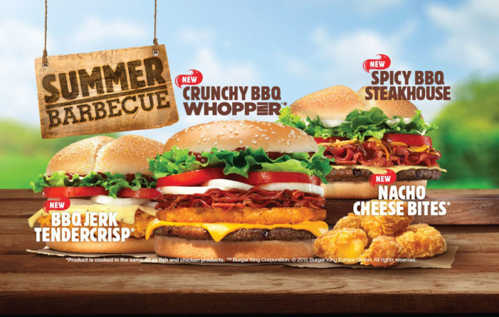 Burger King Rolls Out Summer BBQ Menu For Second Year