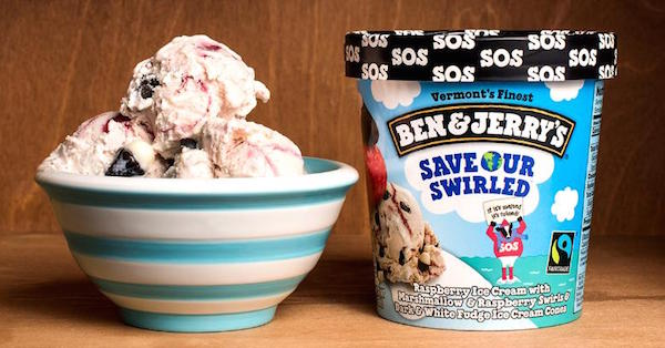 Ben & Jerry's New Ice Cream Flavour Tackles Global Warming