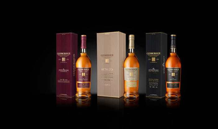 ButterflyCannon Redesigns Glenmorangie's Extra-Matured Variants