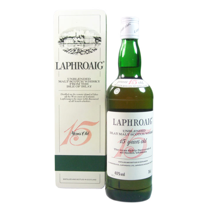 Celebrating 200 Years with the Return of Laphroaig 15 Year Old