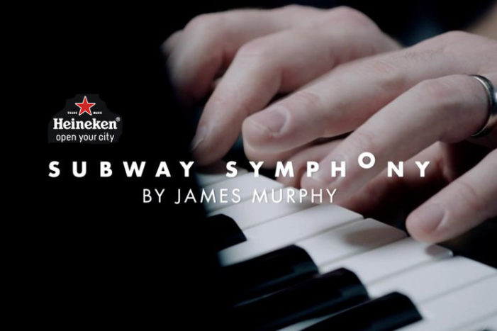 Heineken & James Murphy Join Forces to Bring #SubwaySymphony to Life