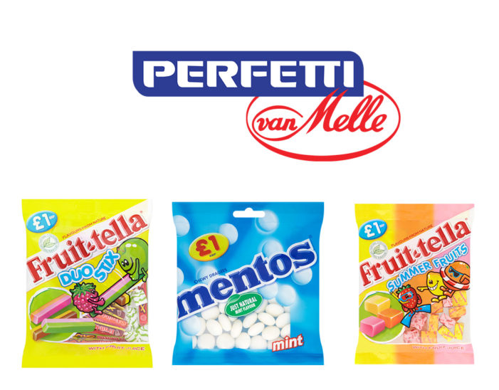 Perfetti van Melle Launches New Range of £1 Price-Marked Packs