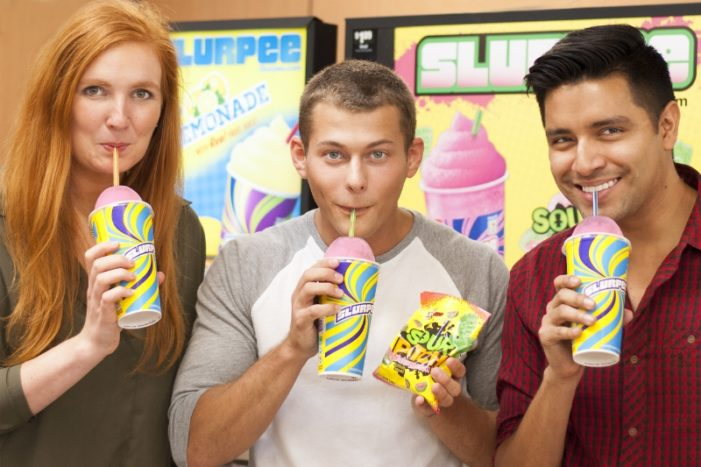 7-Eleven & Sour Patch Kids Partner On New Slurpee Flavour