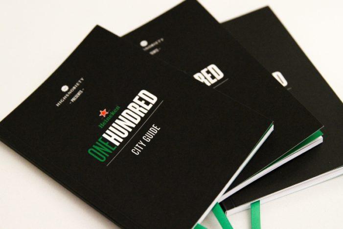 Heineken & RSVP Gallery Debut City Guide to Kick Off 2015 #Heineken100