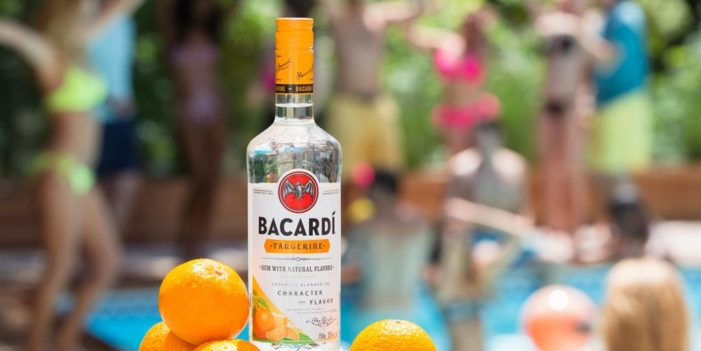 Bacardí Tangerine Launched to Mark 20th Anniversary of Flavoured Rum Line