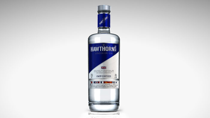 ButterflyCannon Create Brand Identity For Hawthorn's London Dry Gin