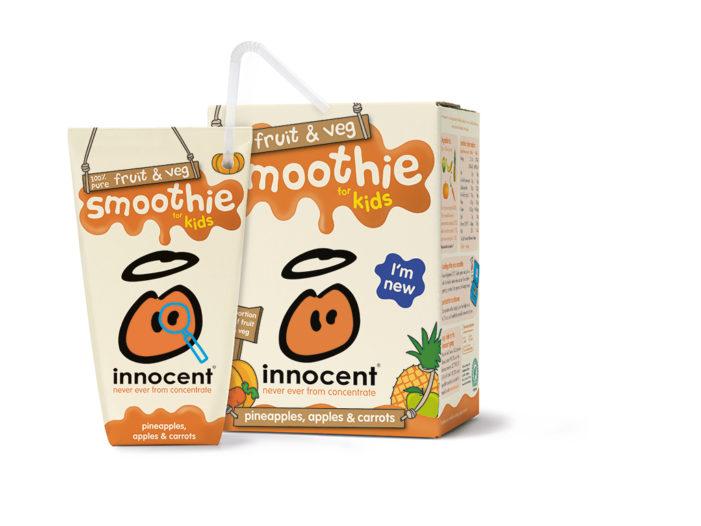 innocent Introduce New Range of Fruit & Veg Kids Smoothies