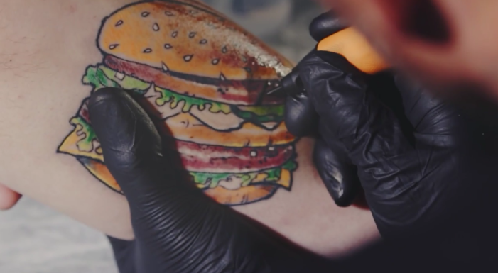 Burger King Goes Skin Deep to Make Its Mark on the Competition