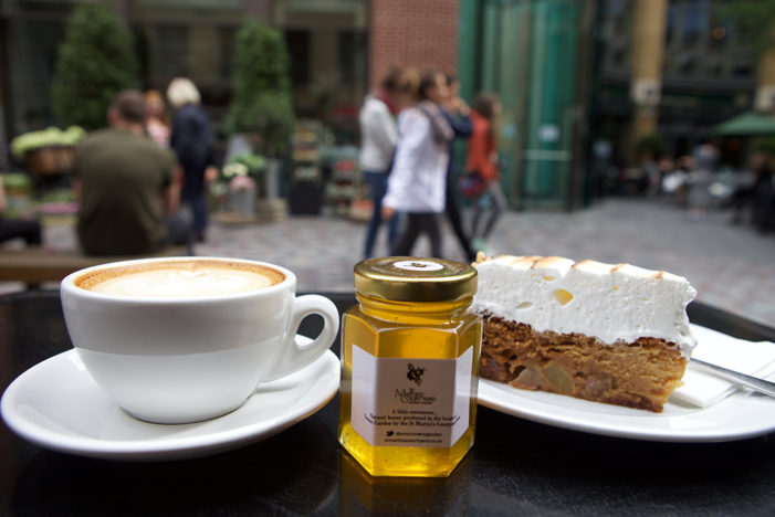 St Martin's Courtyard Collaborates with Department of Coffee with Local Honey