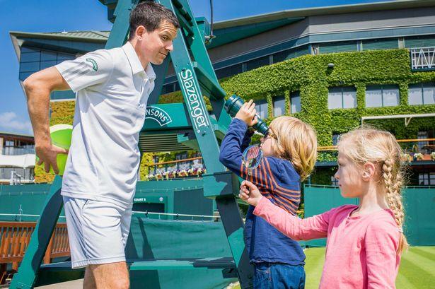 Tim Henman Serves Up Wimbledon for Iris' New Robinsons Campaign