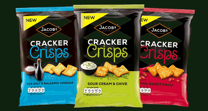 United Biscuits Takes on Mondelez with Jacob's Cracker Crisps Launch