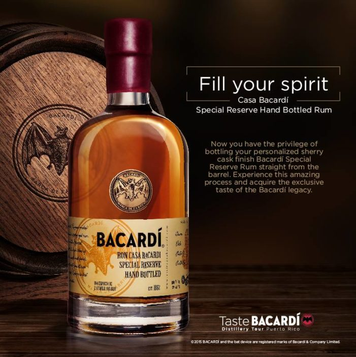 Visitors To The Bacardí Visitor Center in Puerto Rico Can Fill Their Own Bottles