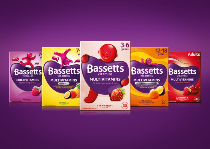 Bassetts Vitamins Re-launches with a Revitalised Design by Bulletproof