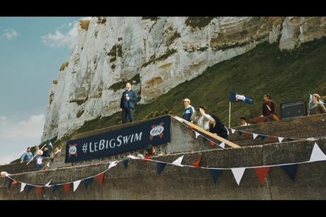 Ogilvy & Cantona's Epic Swim Across the English Channel for Kronenbourg