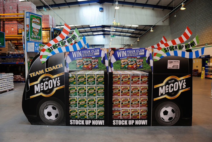 McCoy's Kicks Off the Season with Nationwide Wholesale Promotion