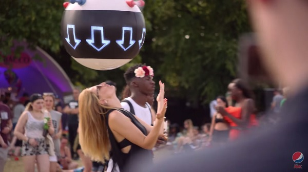 Pepsi Max's GPS-Powered Blimp Helps You Find Lost Friends At Festivals