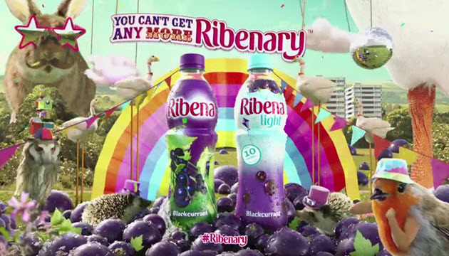 JWT London's New Ribena Ad is Absolutely Bonkers