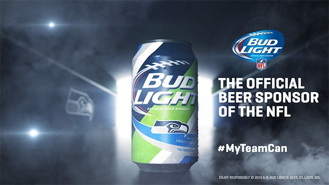Bud Light Unveils 28 Different Team-Specific Cans for NFL Fans