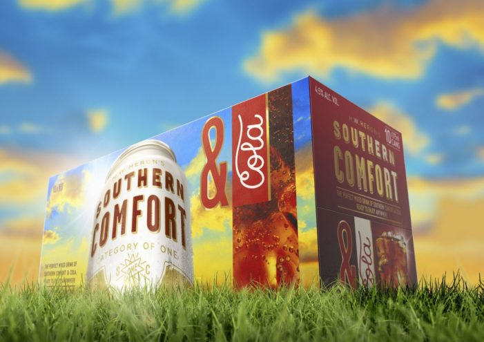 Southern Comfort Redesigns Packaging to Act as 'Portable Advertising'